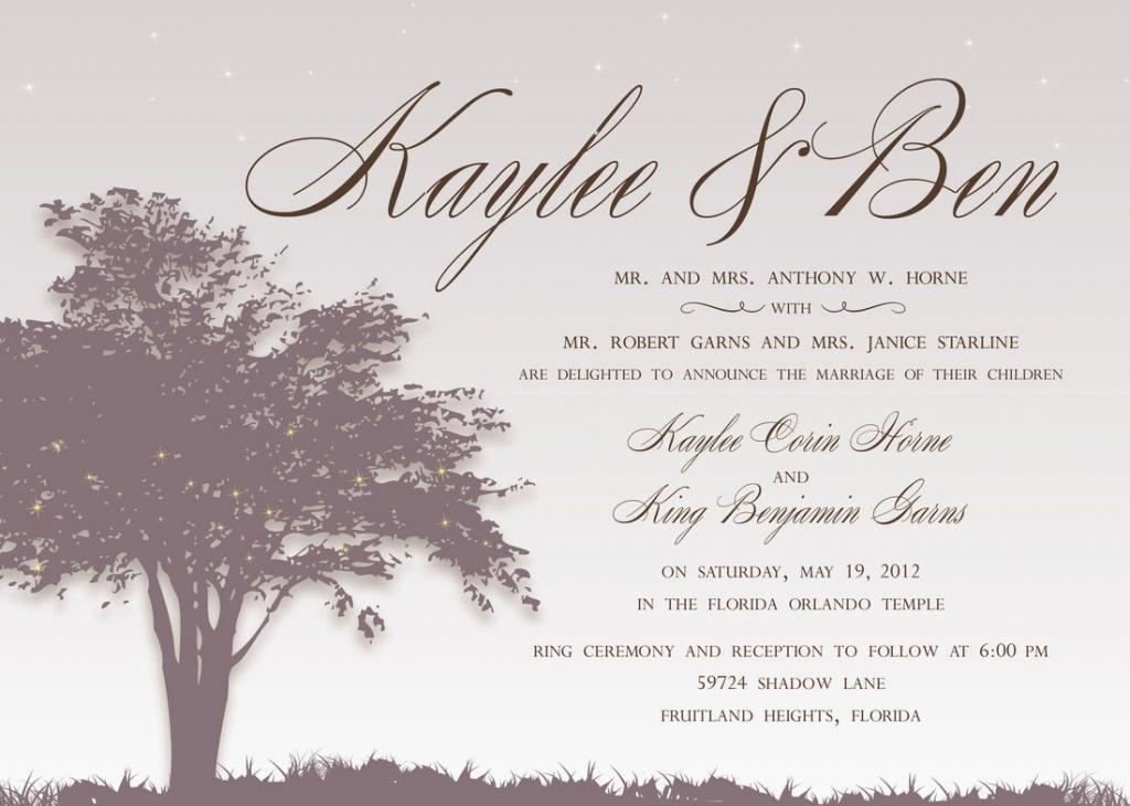 Simple and Elegant Christian Wedding Card Design